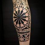 Фото тату полинезия от 24.09.2018 №260 - Polynesia tattoo - tatufoto.com