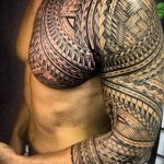 Фото тату полинезия от 24.09.2018 №275 - Polynesia tattoo - tatufoto.com