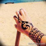 Фото тату полинезия от 24.09.2018 №277 - Polynesia tattoo - tatufoto.com