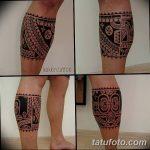 Фото тату полинезия от 24.09.2018 №281 - Polynesia tattoo - tatufoto.com