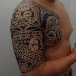 Фото тату полинезия от 24.09.2018 №282 - Polynesia tattoo - tatufoto.com