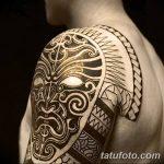 Фото тату полинезия от 24.09.2018 №291 - Polynesia tattoo - tatufoto.com