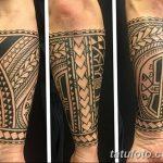 Фото тату полинезия от 24.09.2018 №297 - Polynesia tattoo - tatufoto.com