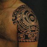 Фото тату полинезия от 24.09.2018 №300 - Polynesia tattoo - tatufoto.com
