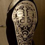 Фото тату полинезия от 24.09.2018 №301 - Polynesia tattoo - tatufoto.com