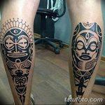 Фото тату полинезия от 24.09.2018 №302 - Polynesia tattoo - tatufoto.com