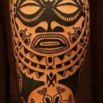 Фото тату полинезия от 24.09.2018 №304 - Polynesia tattoo - tatufoto.com