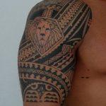 Фото тату полинезия от 24.09.2018 №306 - Polynesia tattoo - tatufoto.com