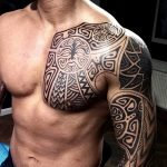 Фото тату полинезия от 24.09.2018 №308 - Polynesia tattoo - tatufoto.com