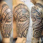 Фото тату полинезия от 24.09.2018 №313 - Polynesia tattoo - tatufoto.com