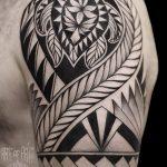 Фото тату полинезия от 24.09.2018 №314 - Polynesia tattoo - tatufoto.com