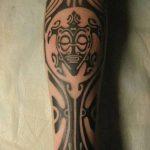 Фото тату полинезия от 24.09.2018 №316 - Polynesia tattoo - tatufoto.com