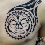 Фото тату полинезия от 24.09.2018 №323 - Polynesia tattoo - tatufoto.com