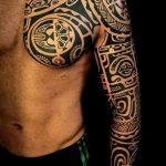 Фото тату полинезия от 24.09.2018 №330 - Polynesia tattoo - tatufoto.com