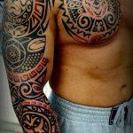 Фото тату полинезия от 24.09.2018 №331 - Polynesia tattoo - tatufoto.com