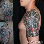 Фото тату полинезия от 24.09.2018 №332 - Polynesia tattoo - tatufoto.com