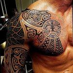 Фото тату полинезия от 24.09.2018 №334 - Polynesia tattoo - tatufoto.com
