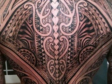 Фото тату полинезия от 24.09.2018 №346 - Polynesia tattoo - tatufoto.com