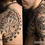 Фото тату полинезия от 24.09.2018 №357 - Polynesia tattoo - tatufoto.com