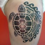 Фото тату полинезия от 24.09.2018 №361 - Polynesia tattoo - tatufoto.com
