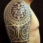 Фото тату полинезия от 24.09.2018 №365 - Polynesia tattoo - tatufoto.com