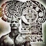 Фото тату полинезия от 24.09.2018 №366 - Polynesia tattoo - tatufoto.com