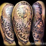 Фото тату полинезия от 24.09.2018 №370 - Polynesia tattoo - tatufoto.com