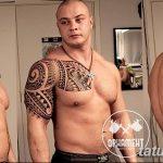 Фото тату полинезия от 24.09.2018 №372 - Polynesia tattoo - tatufoto.com