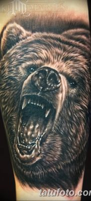 Фото тату с медведем от 12.09.2018 №148 – tattoo with a bear – tatufoto.com