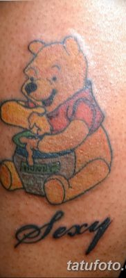 Фото тату с медведем от 12.09.2018 №176 – tattoo with a bear – tatufoto.com