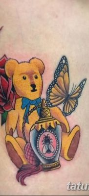 Фото тату с медведем от 12.09.2018 №181 – tattoo with a bear – tatufoto.com
