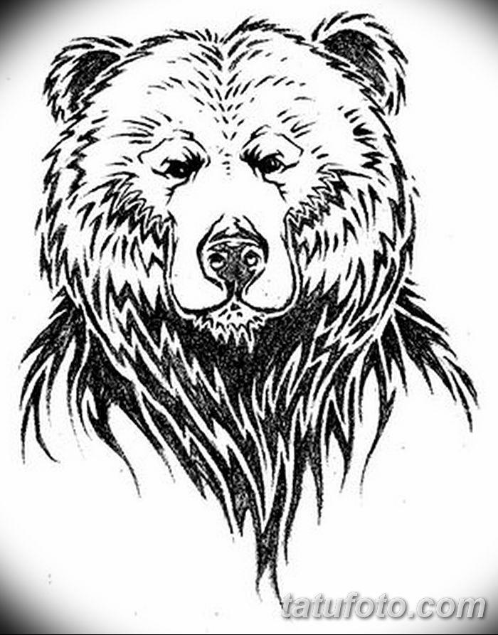 Тату медведи картинки