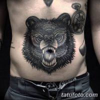 Значение тату с медведем в тюрьме