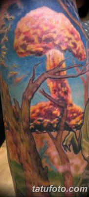 Фото тату ядерный взрыв (гриб) от 01.09.2018 №002 tattoo nuclear explosion – tatufoto.com