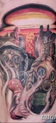 Фото тату ядерный взрыв (гриб) от 01.09.2018 №006 tattoo nuclear explosion – tatufoto.com