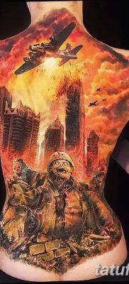 Фото тату ядерный взрыв (гриб) от 01.09.2018 №008 tattoo nuclear explosion – tatufoto.com