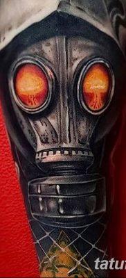 Фото тату ядерный взрыв (гриб) от 01.09.2018 №010 tattoo nuclear explosion – tatufoto.com