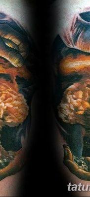 Фото тату ядерный взрыв (гриб) от 01.09.2018 №022 tattoo nuclear explosion – tatufoto.com