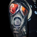 Фото тату ядерный взрыв (гриб) от 01.09.2018 №025 tattoo nuclear explosion - tatufoto.com