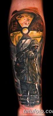 Фото тату ядерный взрыв (гриб) от 01.09.2018 №033 tattoo nuclear explosion – tatufoto.com