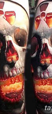 Фото тату ядерный взрыв (гриб) от 01.09.2018 №034 tattoo nuclear explosion – tatufoto.com