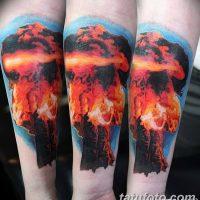 Значение тату ядерный взрыв (гриб)