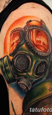 Фото тату ядерный взрыв (гриб) от 01.09.2018 №043 tattoo nuclear explosion – tatufoto.com