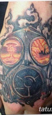 Фото тату ядерный взрыв (гриб) от 01.09.2018 №044 tattoo nuclear explosion – tatufoto.com