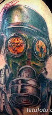 Фото тату ядерный взрыв (гриб) от 01.09.2018 №045 tattoo nuclear explosion – tatufoto.com