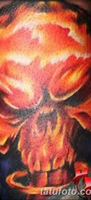 Фото тату ядерный взрыв (гриб) от 01.09.2018 №047 tattoo nuclear explosion – tatufoto.com