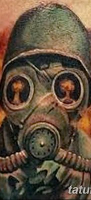 Фото тату ядерный взрыв (гриб) от 01.09.2018 №048 tattoo nuclear explosion – tatufoto.com