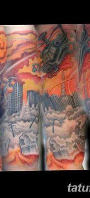 Фото тату ядерный взрыв (гриб) от 01.09.2018 №056 tattoo nuclear explosion – tatufoto.com