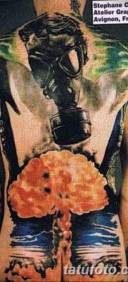 Фото тату ядерный взрыв (гриб) от 01.09.2018 №060 tattoo nuclear explosion – tatufoto.com