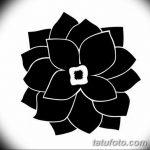 Фото эскизы тату камелия от 18.09.2018 №002 - sketches of camellia tattoos - tatufoto.com